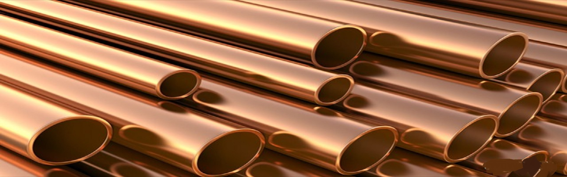 Copper Round Pipes